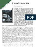 Reseña de Palmagallarda, todavía inacabada de Ignacio Romero de Solís