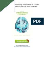 [U572.Book] PDF Download Understanding Psychology (11th Edition) By Charles G. Morris Professor Emeritus, Albert A. Maisto