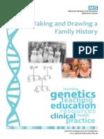 Taking family history and Drawing pedigree