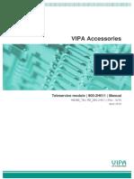 VIPA 900-2H611 Manual