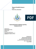 Solution-3674 Environmental Aesthetics - Assign - 2