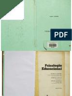 PSICOLOGIA EDUCACIONAL  David Ausubel