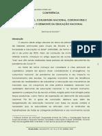 DEMERVAL SAVIANI CRISE ESTRUTURAL CONJUNTURA NACIONAL CORONAVIRUS EDUCAÇÃO O DESMONTE DA EDUCAÇÃO NACIONAL SAVIANI (1)