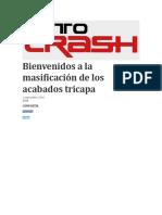 Revista Autocrash colores tricapa