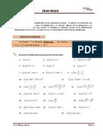 Cálculo Integral 1-5