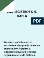 LOS REGISTROS DEL HABLA.ppt