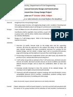 Assignment 1_2020_Bridge Design Project