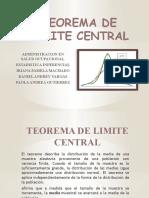 TEOREMA DE LIMITE CENTRAL 2