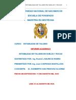Informe academico Estabilidad de taludes de suelos y rocas.docx