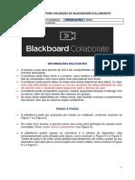 Passo a Passo - Blackboard Collaboratte