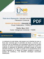 Fsae 4 Plan Comercial trabajo colaborativo alexander narvaez