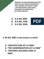 Review - Republic Act No. 8981