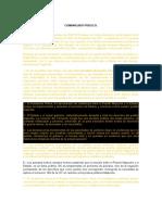 Comunicado Público Consejo Lonkos La Araucanía