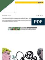 """Actualidad_ OMS _ Coronavirus _ """"Conspiración mundial de la salud"""", por Farid Kahh _ NOTICIAS EL COMERCIO PERÚ"""