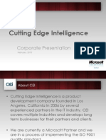 CEI - Corporate Presentation