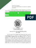 Art. 296 Venta de acciones, Sala Const. No 20 del 23-02-2017