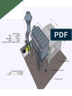 Sistema de exastão para descarga de cavaco de madeira
