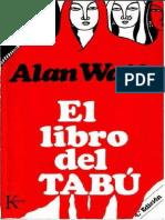(Alan Watts) - Libro del tabú