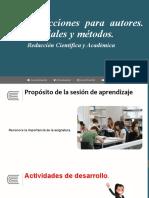 Semana 2 Instrucciones. Materiales y métodos.pptx