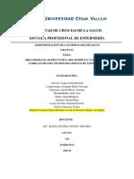 ORGANIGRAMA ESTRUCTURAL DEL HOSPITAL SAN JUAN DEL LURIGANCHO