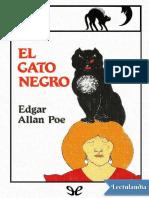El gato negro Ilustrado - Edgar Allan Poe
