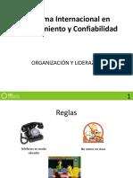 PILAR 4 - ORGANIZACION Y LIDERAZGO