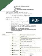 Actividad  7  Las lenguas y la lengua de Cervantes