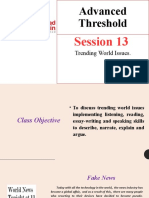 S13-Advanced Threshold  World Treding News.pptx