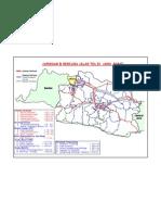 Peta Jaringan & Rencana Jalan Tol Di Jawa Barat