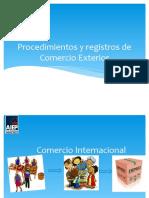 PROCEDIMIENTOS Y REGISTROS DE COMEX v2.pptx