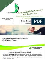 RESPONSABILIDAD DEL REVISOR FISCAL