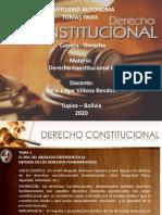 Diapositivas Derecho Constitucional II