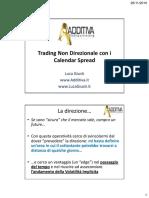 Trading Non Direzionale con i Calendar Spread. La direzione.pdf