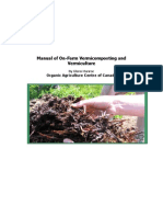 Manual of On-Farm Vermicomposting and Vermiculture - Glenn Munroe