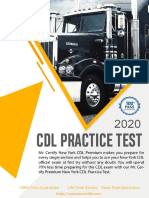 Wyoming CDL Practice Test
