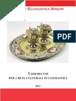 Vademecum per i Beni Culturali Ecclesiastici - Regione Ecclesiatica Marche (2011) [52p] ECCELENTE.pdf