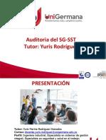 INDUCCIÓN AL CURSO AUDITORIA DEL SG SST