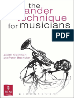 The Alexander Technique+for+Musicians+by+Judith+Kleinman,+Peter+Buckoke