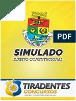 23-11-19 - SIMULADO D. CONSTITUCIONAL PM - CURSO MODULAR