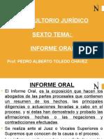 cuarto tema del curso.Informe Oral