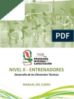 Manual Nivel II Entrenadores