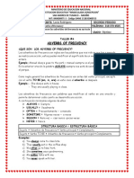TALLER #4 ADVERBS OF FRECUENCY - SÉPTIMO
