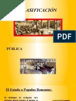 CLASIFICACIÓN ROMANO