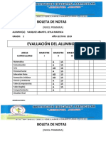 PROFESORA DE AULA                                                                                                PROFESORA DE AULA