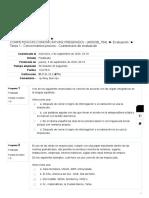 Tarea 1 - Conocimientos previos - Cuestionario de evaluación