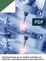 Modulo Probador de Sensores y Actuadores- RPQ