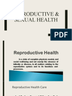 REPRODUCTIVE & SEXUAL HEALTH