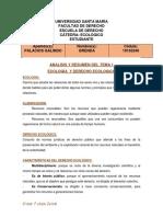 ANALISIS DE LO STEMAS ECOLOGICO BRENDA PALACIOS