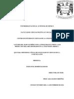 Tesis Análisis del marco jurídico de la publicidad en torno a los productos milagro