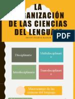 La Organización de Las Ciencias Del Lenguaje